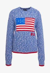 Polo Ralph Lauren - FLAG  - Maglione - raleigh blue ragg - 3