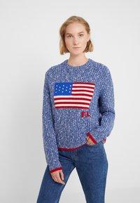 Polo Ralph Lauren - FLAG  - Maglione - raleigh blue ragg - 0