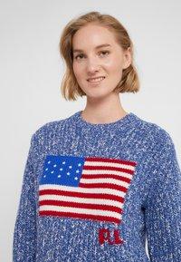 Polo Ralph Lauren - FLAG  - Maglione - raleigh blue ragg - 4