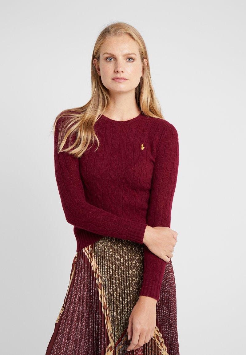 Polo Ralph Lauren - Stickad tröja - burgundy