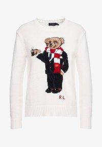 Polo Ralph Lauren - Sweter - cream - 4