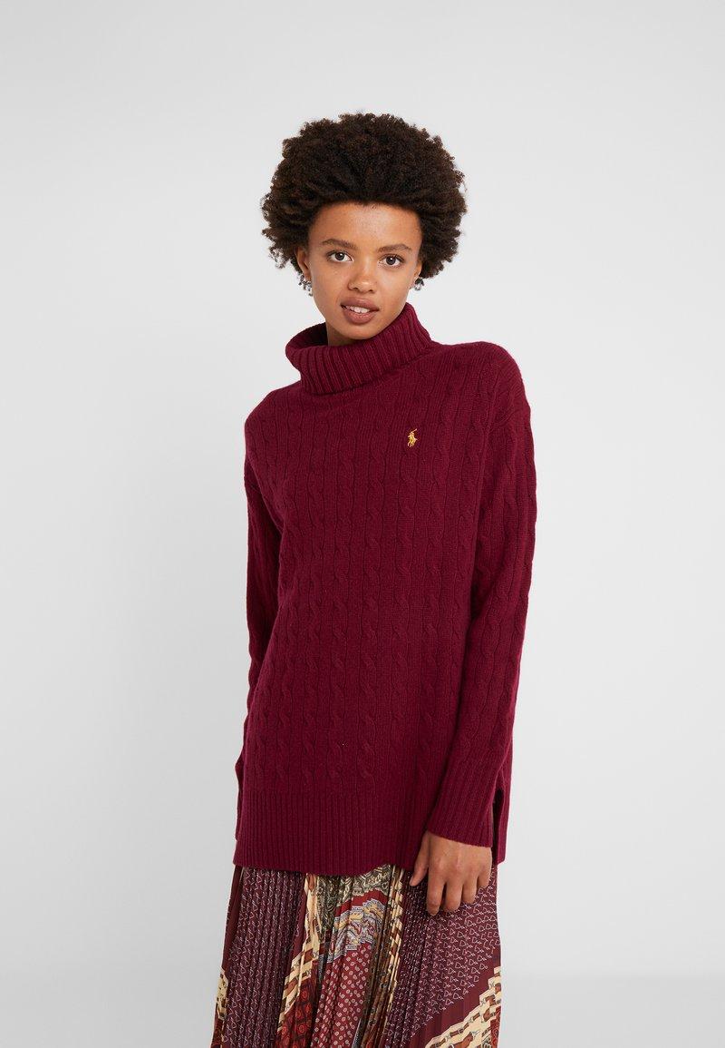 Polo Ralph Lauren - BLEND - Svetr - burgundy