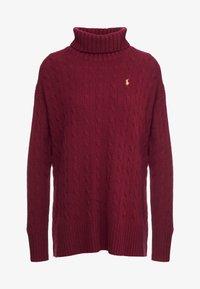 Polo Ralph Lauren - BLEND - Pullover - burgundy - 4