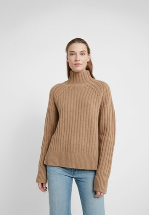 LONG SLEEVE - Strikpullover /Striktrøjer - luxury beige