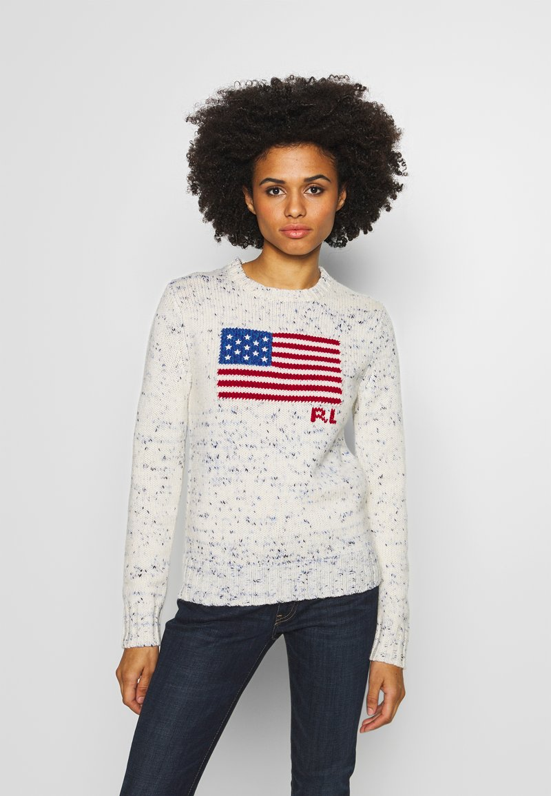 Polo Ralph Lauren - FLAG LONG SLEEVE - Maglione - multi