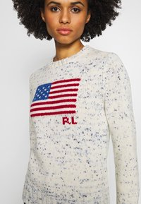 Polo Ralph Lauren - FLAG LONG SLEEVE - Maglione - multi - 4