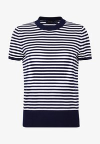 Polo Ralph Lauren - STRIPE SHORT SLEEVE - T-shirt con stampa - bright navy/white - 4