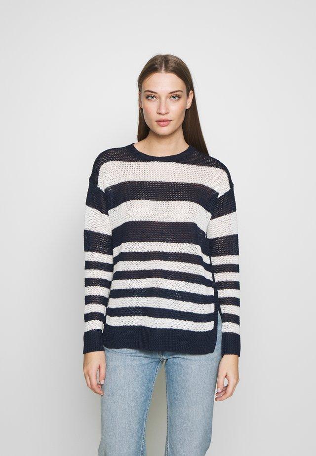 Sweter - hunter navy/bone