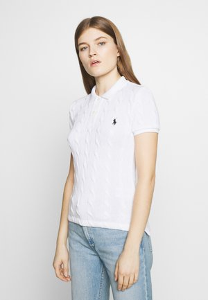 SHORT SLEEVE - Koszulka polo - white