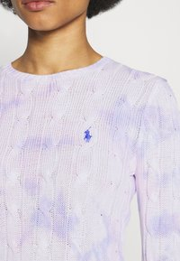 Polo Ralph Lauren - LONG SLEEVE - Sweter - pastel paintsplat - 5