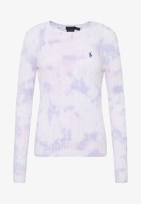 Polo Ralph Lauren - LONG SLEEVE - Sweter - pastel paintsplat - 4
