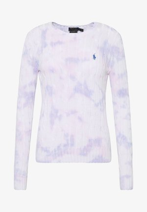 LONG SLEEVE - Strickpullover - pastel paintsplat
