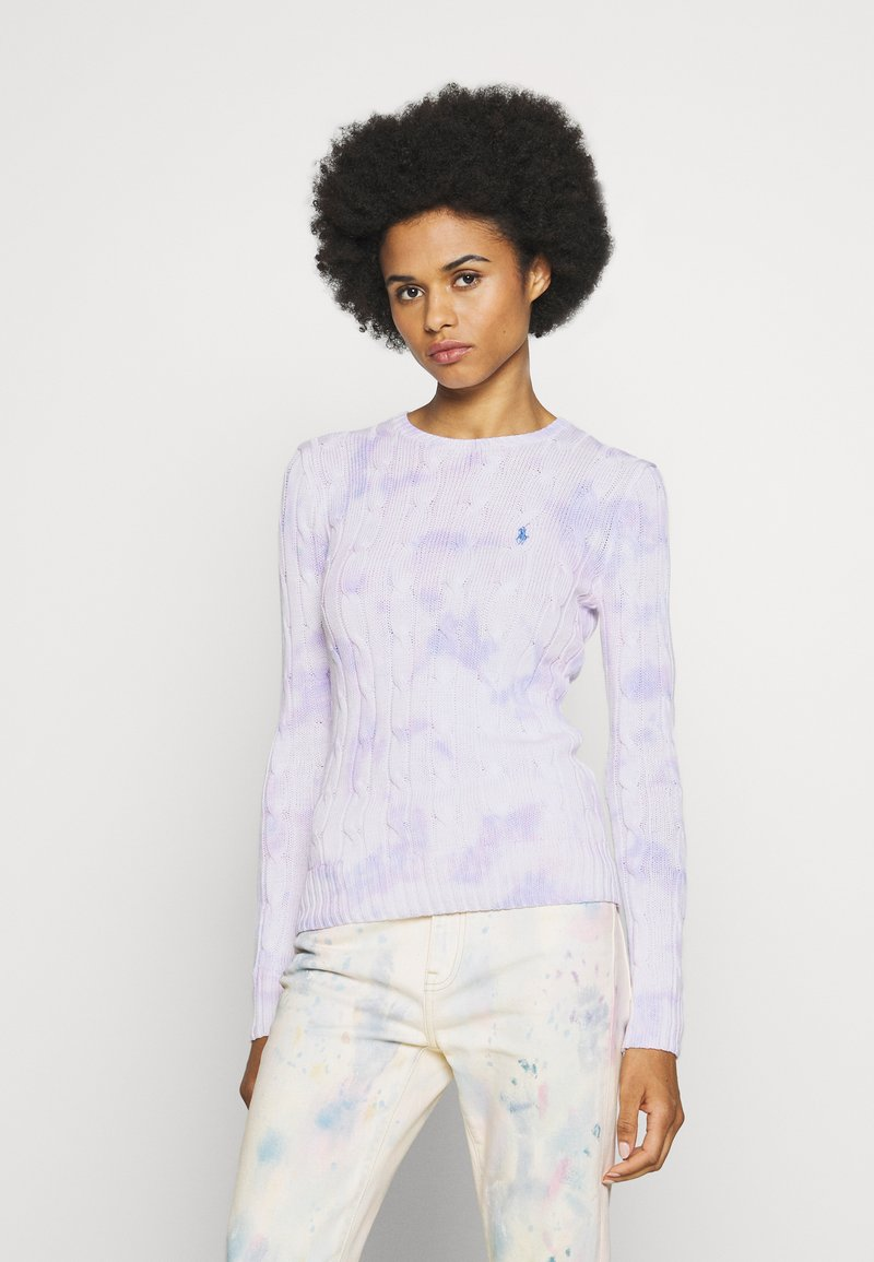 Polo Ralph Lauren - LONG SLEEVE - Sweter - pastel paintsplat