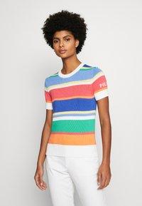 Polo Ralph Lauren - CLASSIC SHORT SLEEVE - T-shirt imprimé - multi - 0