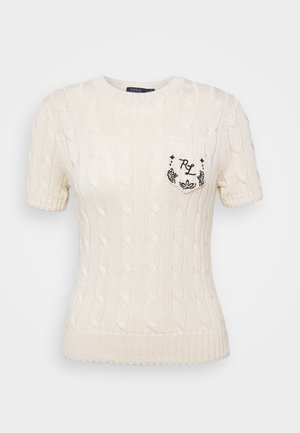 T-shirt basique - cream