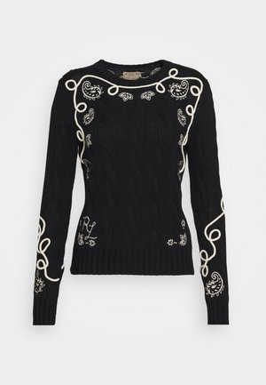 LONG SLEEVE - Jersey de punto - black