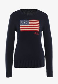Polo Ralph Lauren - LONG SLEEVE - Maglione - hunter navy - 3