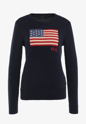 LONG SLEEVE - Pullover - hunter navy