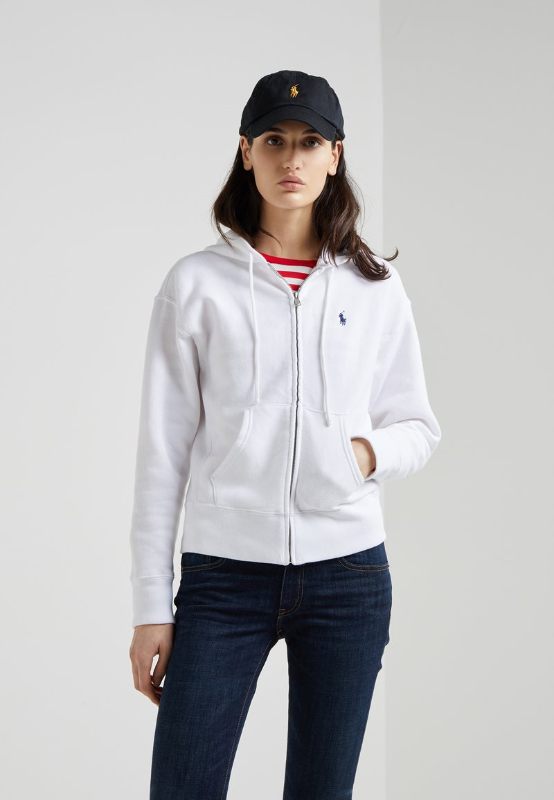 Polo Ralph Lauren - SEASONAL - Sweatjacke - white