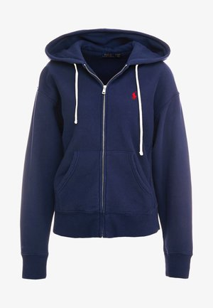 SEASONAL - Mikina na zip - cruise navy