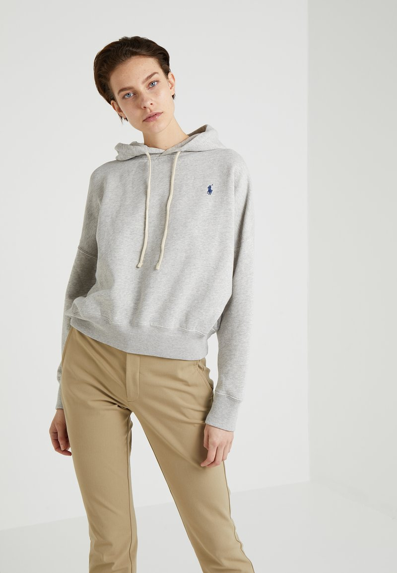 Polo Ralph Lauren - SEASONAL - Mikina s kapucí - sport heather