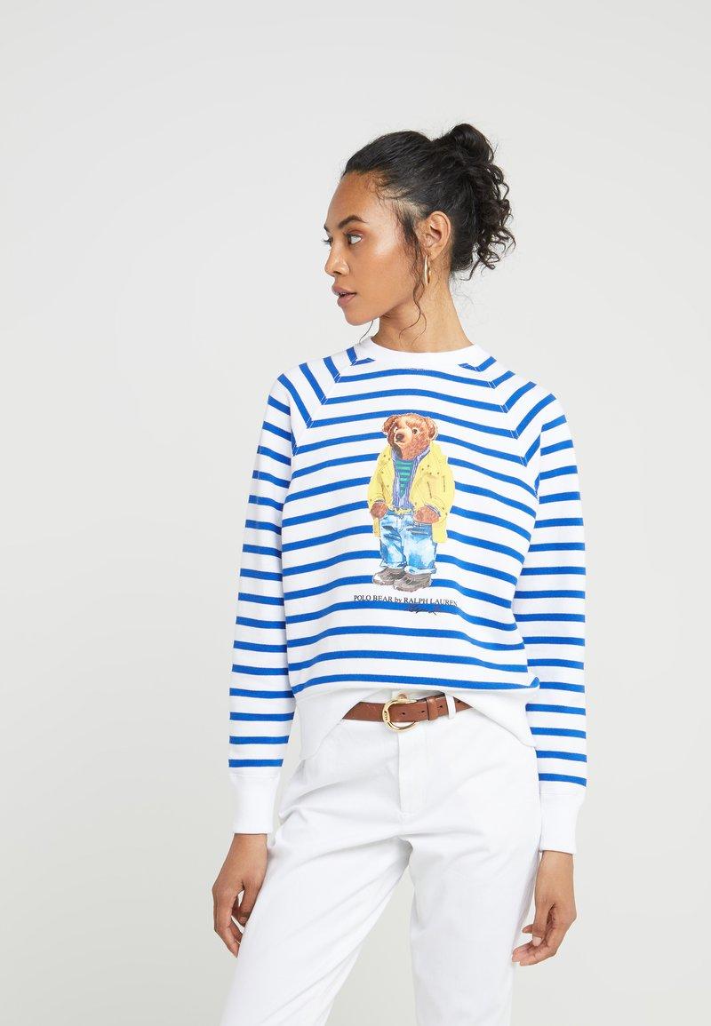 Polo Ralph Lauren - SEASONAL - Sweatshirt - white/pacific roy