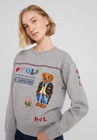Polo Ralph Lauren - SEASONAL - Sweater - dark vintage heat - 4