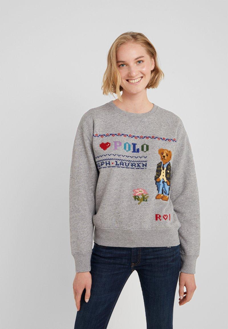 Polo Ralph Lauren - SEASONAL - Sweater - dark vintage heat