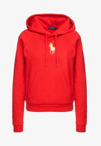 Polo Ralph Lauren - SEASONAL - Felpa con cappuccio -  red - 5