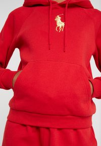 Polo Ralph Lauren - SEASONAL - Felpa con cappuccio -  red - 6