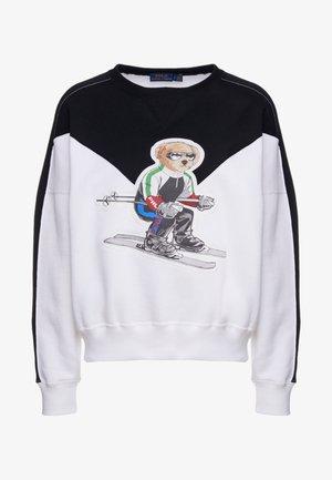 SEASONAL - Sweatshirt - black/white