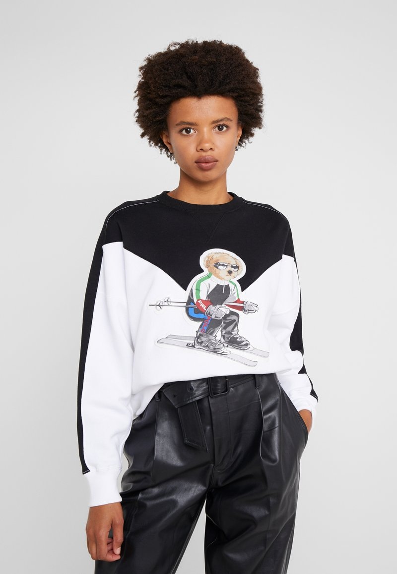 Polo Ralph Lauren - SEASONAL - Sweatshirt - black/white