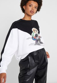 Polo Ralph Lauren - SEASONAL - Bluza - black/white - 3