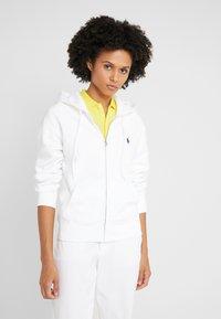 Polo Ralph Lauren - SEASONAL  - veste en sweat zippée - white - 0