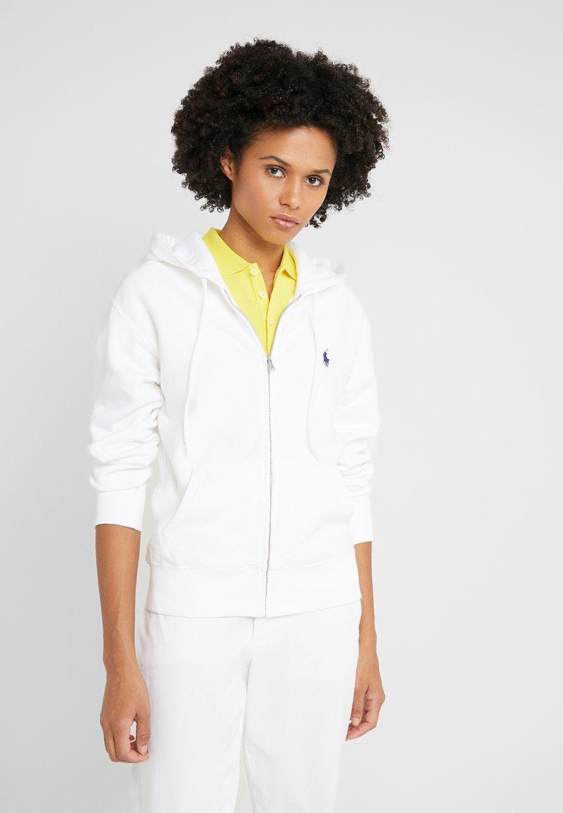 Polo Ralph Lauren - SEASONAL  - veste en sweat zippée - white