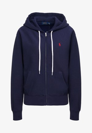 SEASONAL  - Zip-up hoodie - cruise navy