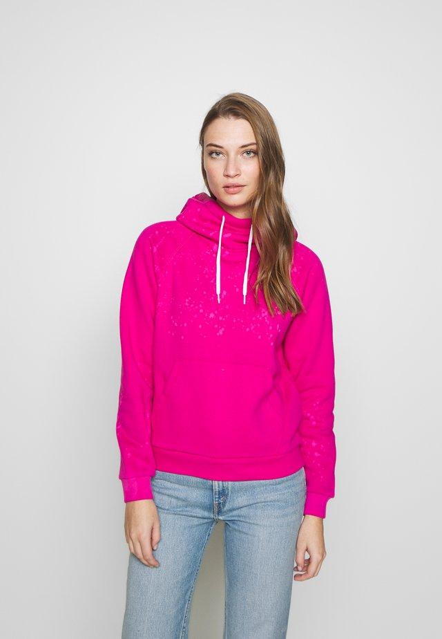 SEASONAL - Bluza z kapturem - accent pink