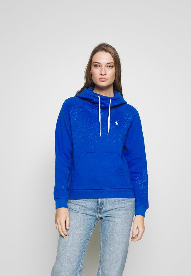 SEASONAL - Bluza z kapturem - heritage blue