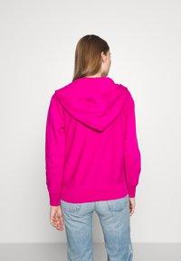 Polo Ralph Lauren - ZIP LONG SLEEVE - Zip-up hoodie - pink - 2