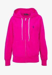 Polo Ralph Lauren - ZIP LONG SLEEVE - Zip-up hoodie - pink - 4