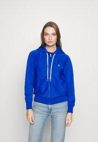 Polo Ralph Lauren - ZIP LONG SLEEVE - Zip-up hoodie - heritage blue - 0
