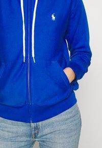 Polo Ralph Lauren - ZIP LONG SLEEVE - Zip-up hoodie - heritage blue - 3