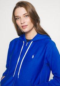 Polo Ralph Lauren - ZIP LONG SLEEVE - Zip-up hoodie - heritage blue - 4