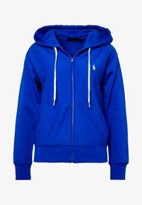 Polo Ralph Lauren - ZIP LONG SLEEVE - Zip-up hoodie - heritage blue - 5