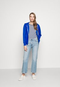 Polo Ralph Lauren - ZIP LONG SLEEVE - Zip-up hoodie - heritage blue - 1