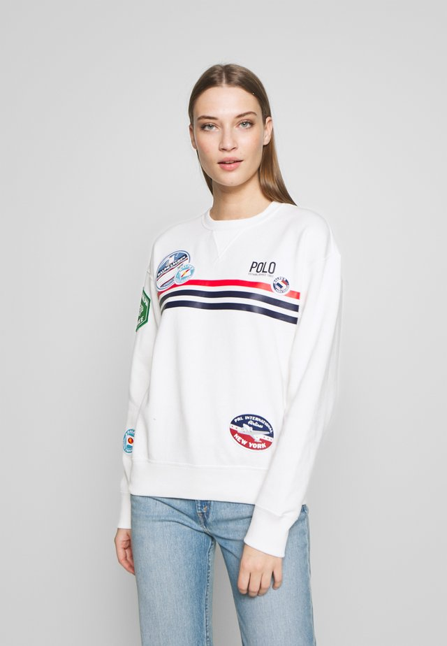 LONG SLEEVE - Sweatshirt - deckwash white