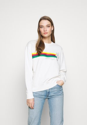 BEAR LONG SLEEVE - Sweatshirt - deckwash white