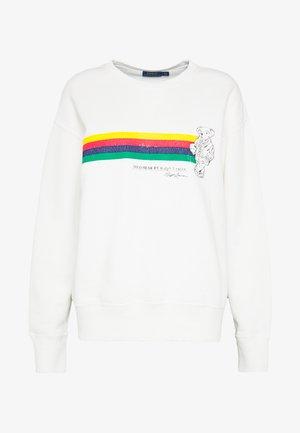 BEAR LONG SLEEVE - Sweater - deckwash white