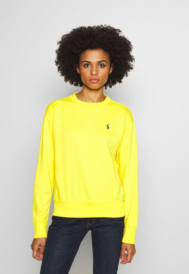 Polo Ralph Lauren - LONG SLEEVE - Bluza - lemon crush