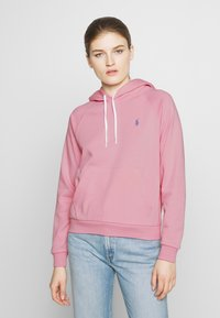 Polo Ralph Lauren - FEATHERWEIGHT - Bluza z kapturem - resort pink - 0